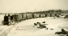 Convoi de bois