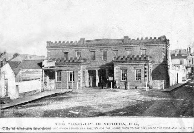Bâtiment en briques de style colonial des années 1850
