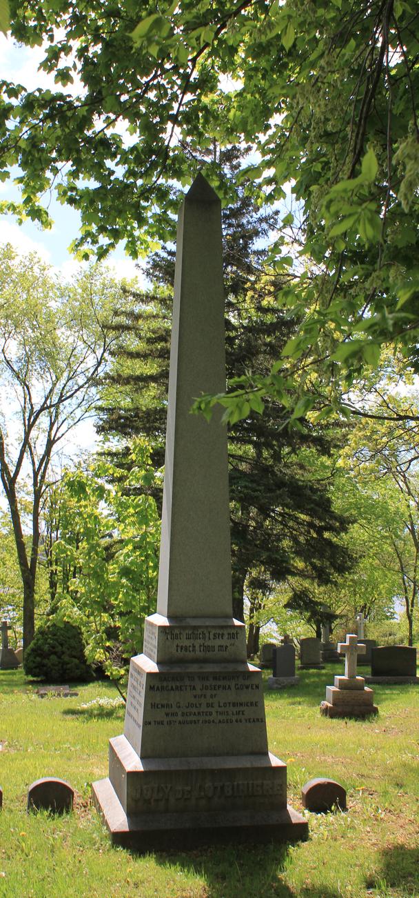 68/5000 Image colorée d'une pierre tombale dans l'herbe et entourée d'arbres