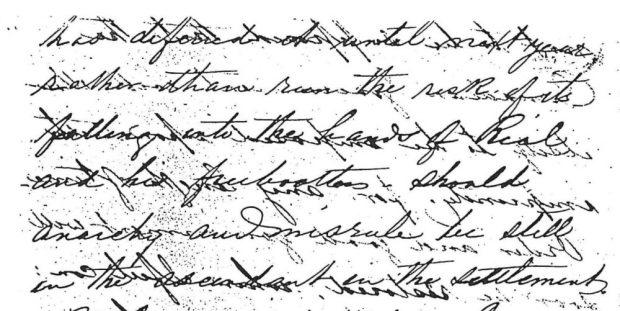 Lettre manuscrite (voir la page de la galerie pour le contenu)