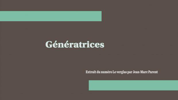 Génératrices