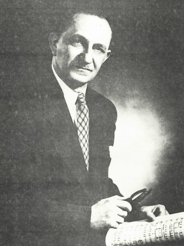 Une photographie du visage de Jan Wolanek