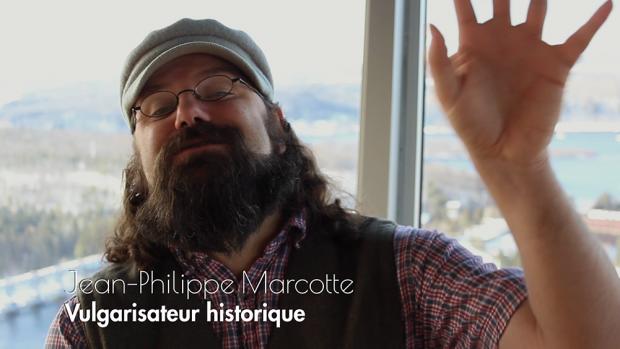 Jean-Philippe Marcotte, vulgarisateur historique