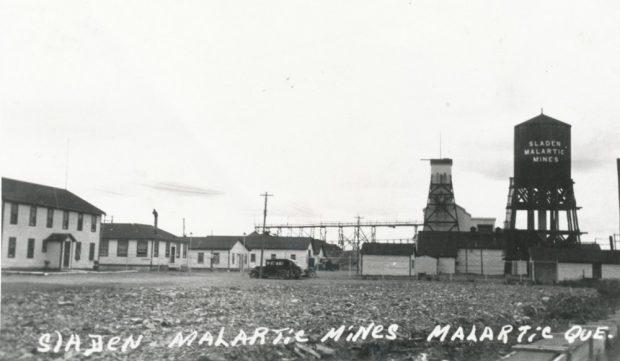 Mine Barnat-Sladen de Malartic (1938-1970)