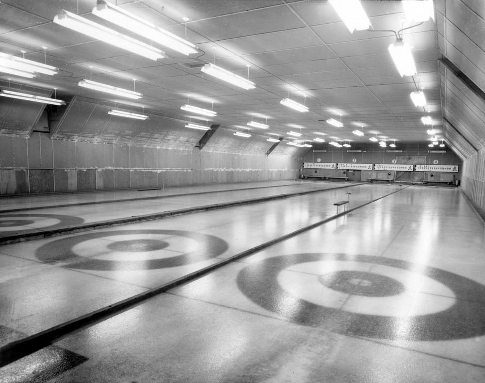 Glaces de la salle de curling de Malartic