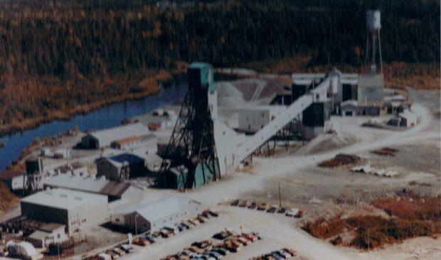 une vue aérienne de la Mine Camflo