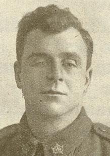 Portrait d'un soldat.