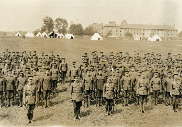 33ème Bataillon d'infanterie canadienne à London (Ontario)